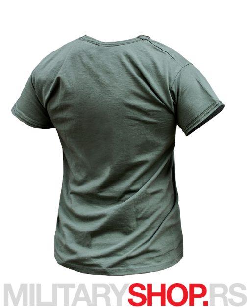 Zelena Bushman pamučna Armoline majica