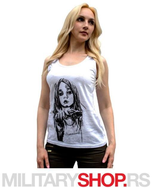 Ženska majica na bretele Amely
