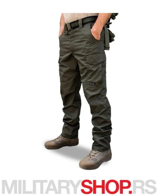Tamno zelene kargo pantalone Armoline Battle Clan