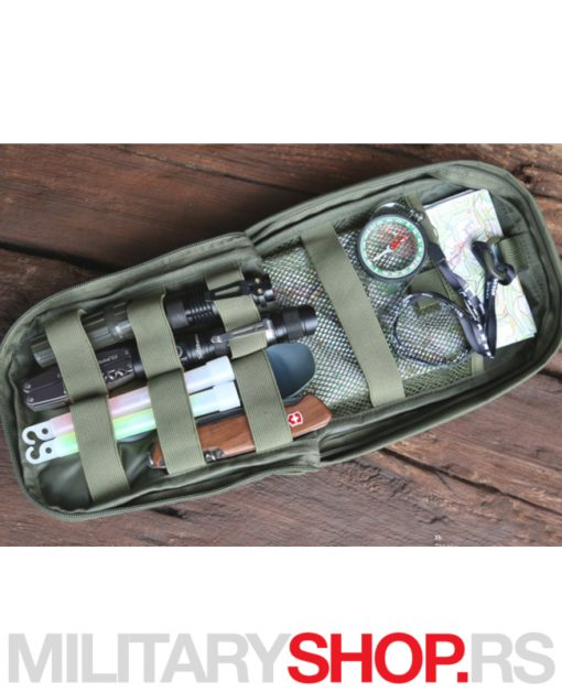 Molle pouch Snake zelena torbica