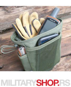 Zelena taktička molle torbica Brandit