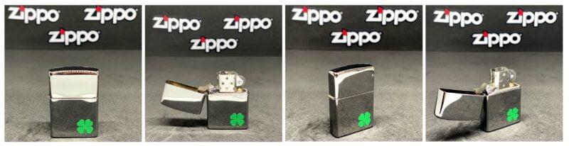 A Bit O' Luck Zippo upaljač sa logom deteline