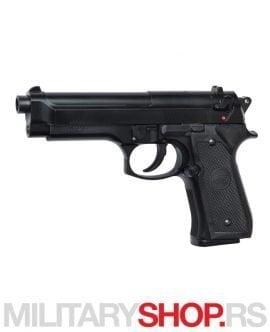 Crna replika pištolja Beretta M92FS