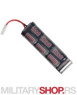 Baterija za airsoft puške 8,4V 3000 mAh
