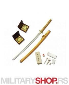 Katana Boker Samuraj Premium zlatna