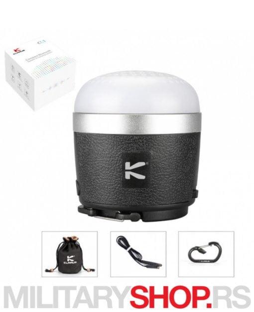 Klarus uređaj 3 u 1 - Punjač, zvučnik i fenjer lampa