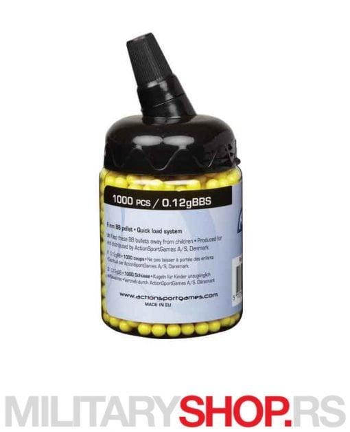 Plastične ASG kuglice 0,12 gr 1000 kom