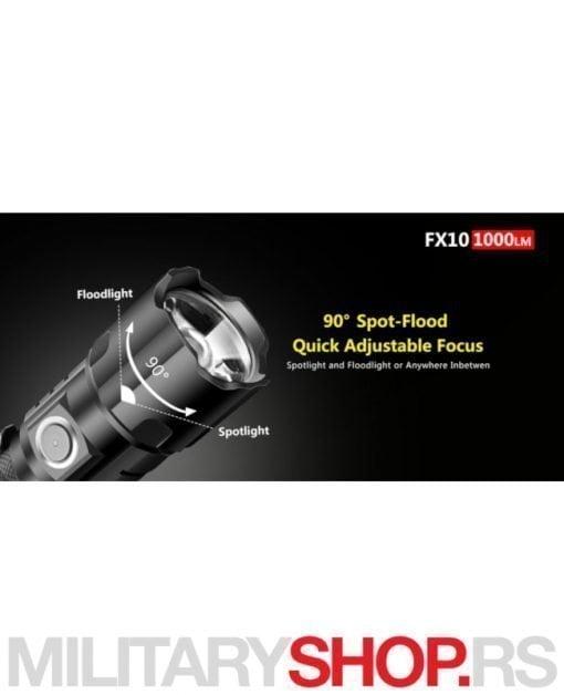Taktička lampa Klarus FX10