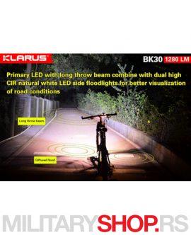 Klarus lampa za bicikl BK30