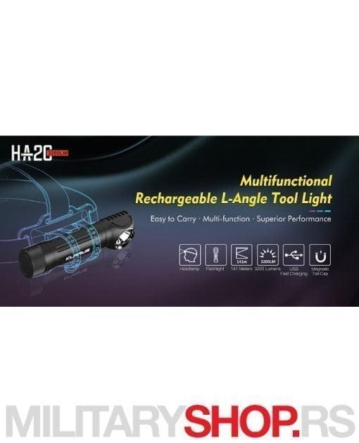 Lampa za kampere Klarus HA2C