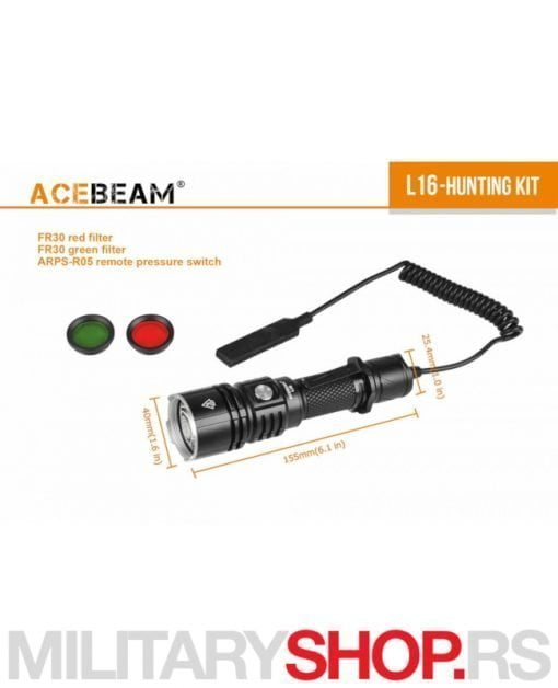 Acebeam Lovački set L16
