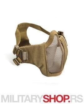 Kojot mesh maska za Airsoft metal/najlon