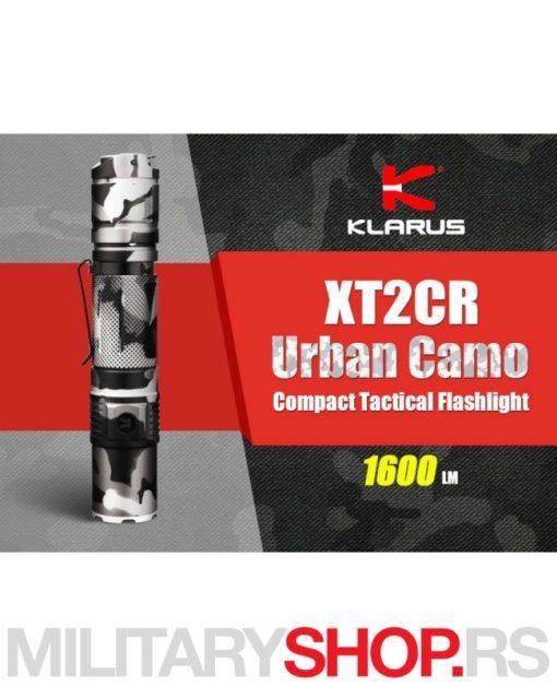 Klarus maskirna taktička lampa XT2CR Camo