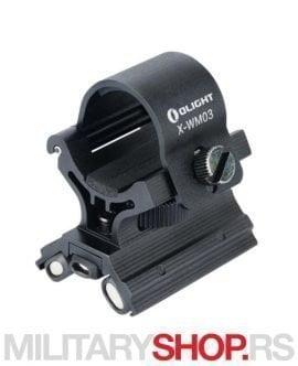 Magnetni nosač lampi za pušku Olight X WM03