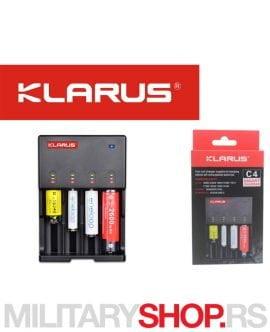 Punjač za 4 baterije Klarus C4