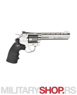 Srebrni revolver 6'' Dan Wesson CO2 GNB