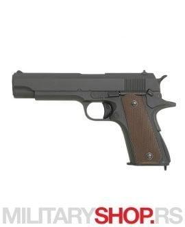 Colt 1911 replika na baterije CM 123