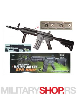 Full metal replika AEG M16A4 SPR Mod1 Short