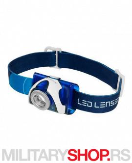 Plava Led Lenser čeona lampa