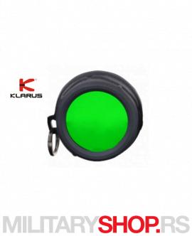 Zeleni filter za lampu Klarus FT30