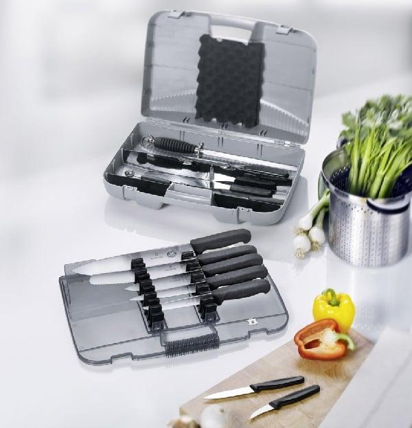 Profesionalni kuhinjski noževi set Victorinox