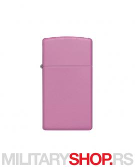 Roze upaljač Zippo Pink Slim Matte