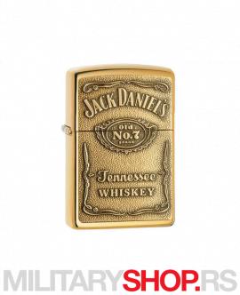 Zippo upaljač Jack Daniel's od mesinga