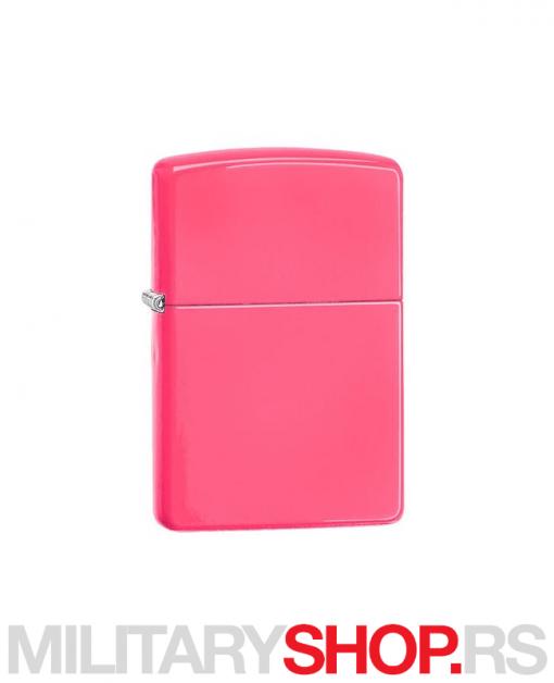 Neon pink Zippo upaljač