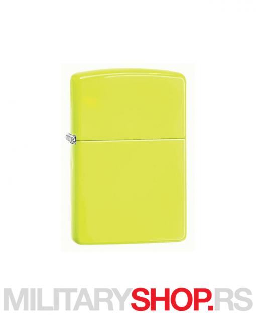 Neon žuti Zippo upaljač