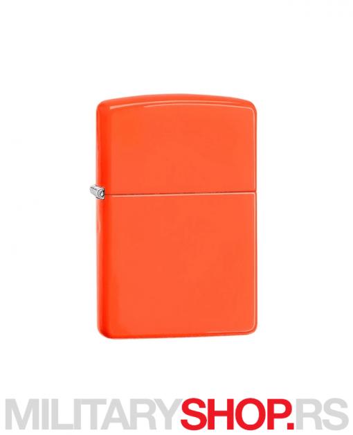Neon narandžasti Zippo upaljač