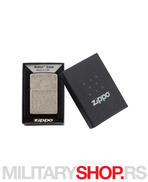 Armor® Antičko srebro Zippo upaljač