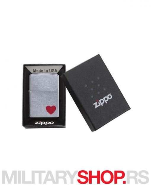 Upaljač Zippo Love Srce