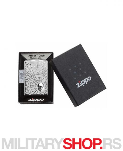 Paukova mreža Zippo upaljač