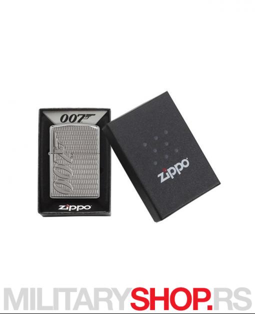 Zippo upaljač James Bond sa gravurom