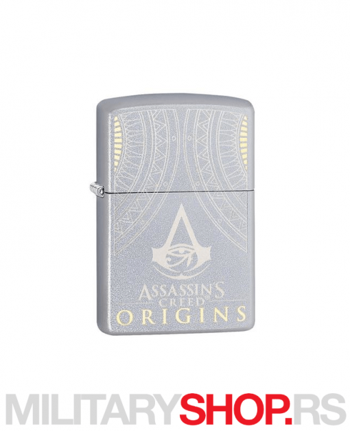 Satenski hrom Zippo upaljač Assassins Creed