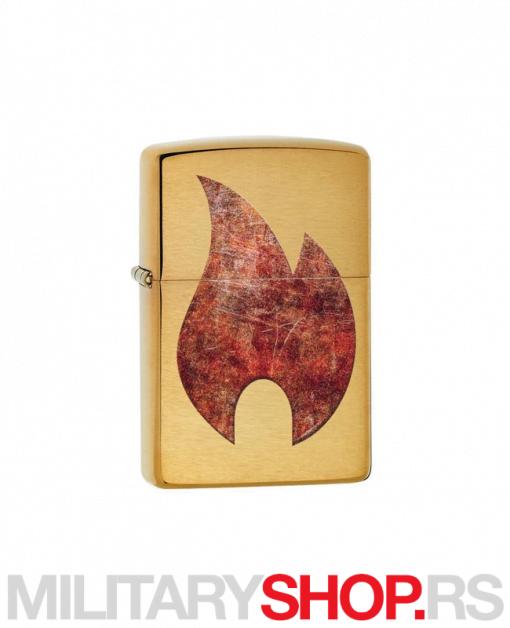 Zippo upaljač Plamen Rusty Flame