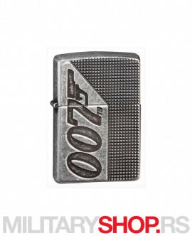 James Bond Zippo upaljač pištolj logo