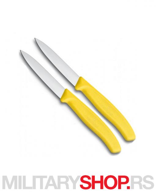 Kuhinjski noževi Victorinox - žuti set
