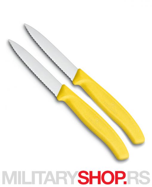 Set od dva nazubljena kuhinjska noža Victorinox