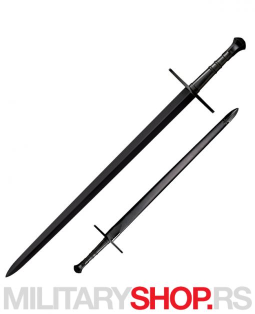 Crni jednoiporučni mač Cold Steel