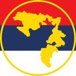 Crna majica sa natpisom Republika Srpska
