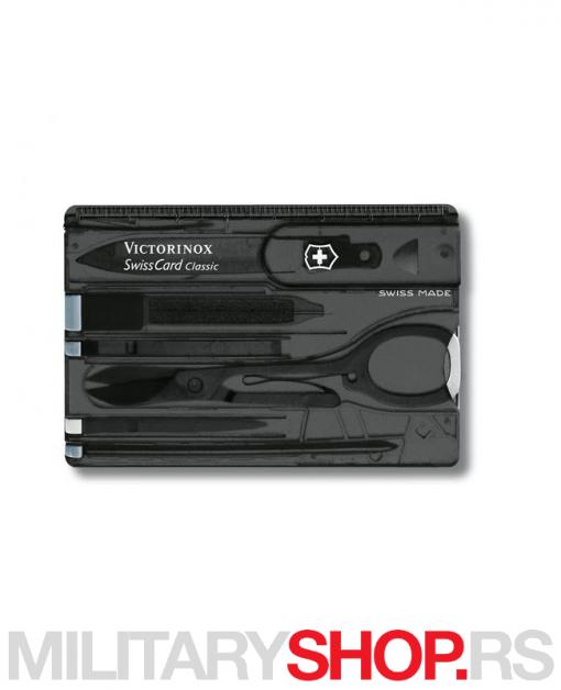 Victorinox švajcarska kartica crna