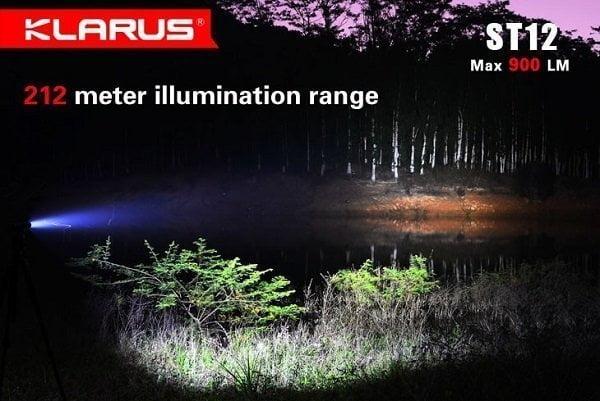 Led baterijska lampa Klarus ST12