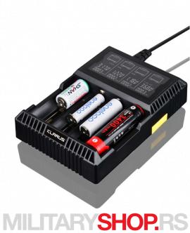 Pametni punjač za punjive baterije Klarus CH4S