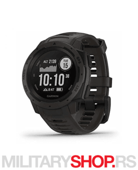 GPS sat za planinarenje Garmin Instinct Graphite