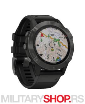 Sportski sat GPS Fenix 6 Sapph Carbon Gray