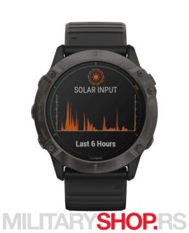 Pametni sat GPS Fenix 6x Sapph Carbon Gray