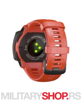 Sat sa GPS praćenjem Garmin Instinct Flame Red