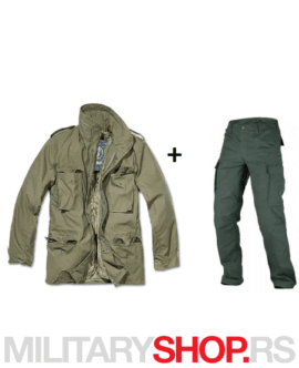 M65 Vijetnamka i BDU pantalone