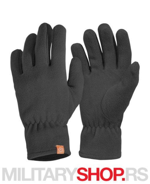 Crne zimske rukavice od flisa Triton